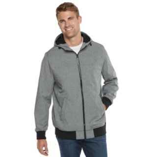 Big & Tall Dockers Chase Performance Hooded Softshell Bomber Jacket