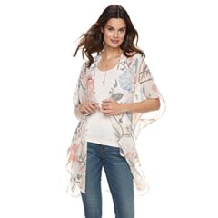 Women's SONOMA Goods for Life™ Sheer Floral Kimono