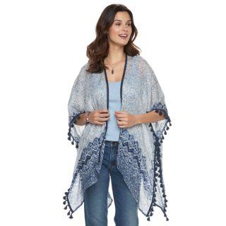 Women's SONOMA Goods for Life? Tasseled Paisley Kimono