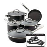 Farberware Buena Cocina 13 pc Aluminum Nonstick Cookware Set