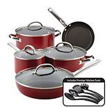 Farberware Buena Cocina 13-piece Aluminum Nonstick Cookware Set