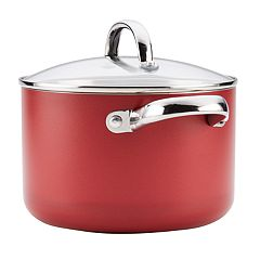 Farberware Buena Cocina 4-quart Aluminum Nonstick Covered Soup Pot
