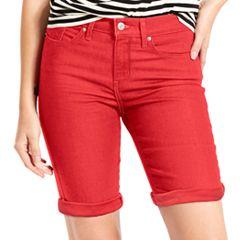 Women's Levi's® Cuffed Bermuda Shorts