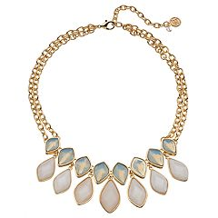 Dana Buchman Marquise Inlay Collar Necklace