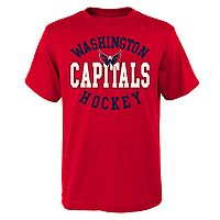 Boys 8-20 Washington Capitals Spectacle Tee