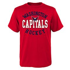 Boys 8-20 Washington Capitals Spectacle Tee