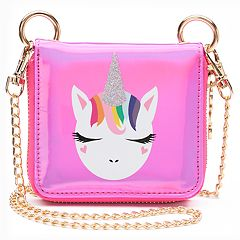 Glitter Animal Mini Crossbody Wallet