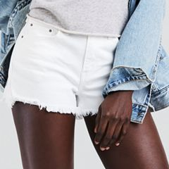 Women's Levi's® High Rise Jean Shorts