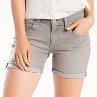 Women's Levi's® Cuffed Mid-Length Shorts