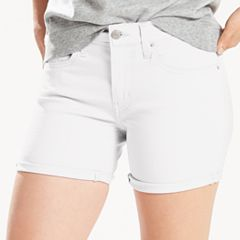 Women's Levi's® Cuffed Mid-Length Shorts