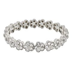 LC Lauren Conrad Simulated Crystal Stretch Bracelet