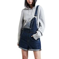 Women's Levi's® Jean Short Overalls