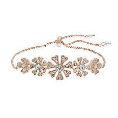 LC Lauren Conrad Flower Pull Tie Bracelet