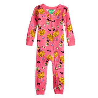 Baby Girl Sesame Street Elmo Halloween Coverall