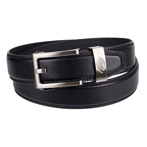 e1918a0a593 Men s Dickies Custom-Fit Bonded-Leather Belt
