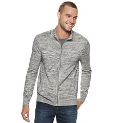 Men's Marc Anthony Slim-Fit Full-Zip Mockneck Sweater