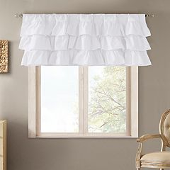 Madison Park Jocelyn Oversized Ruffle Valance