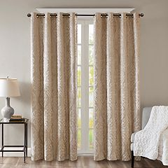 SunSmart Blackout 1-Panel Elysia Total Window Curtain