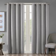 SunSmart Blackout 1-Panel Arlie Heathered Window Curtain
