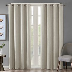 SunSmart Arlie Heathered Blackout Window Curtain