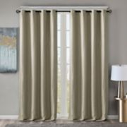 SunSmart Blackout 1-Panel Briar Window Curtain