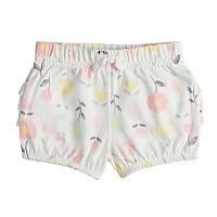 Baby Girl Jumping Beans® Ruffled Print Bubble Shorts