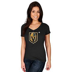 Women's Majestic Vegas Golden Knights Logo Tee