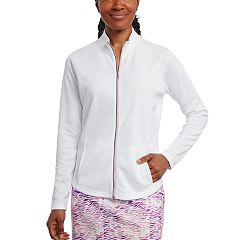 Women's Pebble Beach Embossed Interlock Full-Zip Golf Jacket