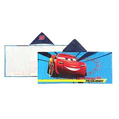 Disney / Pixar Cars 3 Lightening McQueen Hooded Towel
