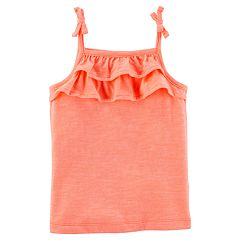 Girls 4-8 Carter's Tiered Ruffle Tank Top