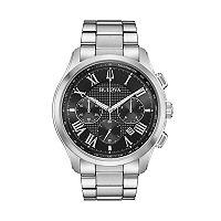 Bulova Men's Classic Wilton Stainless Steel Chronograph Watch - 96B288
