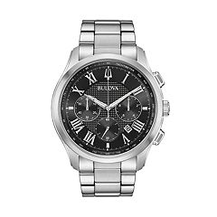 Bulova Men's Classic Wilton Stainless Steel Chronograph Watch - 96B288
