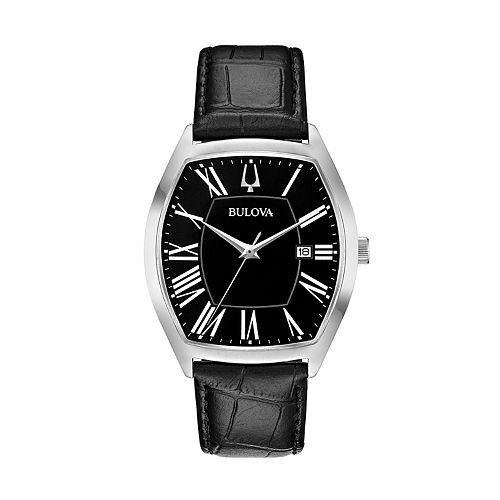 Bulova Men's Classic Ambassador Leather Watch - 96B290