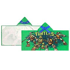 Teenage Mutant Ninja Turtles Mean Green Leo Hooded Towel