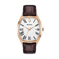 Bulova Men's Classic Ambassador Leather Watch - 97B173
