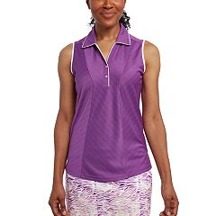 Women's Pebble Beach Sleeveless Golf Polo