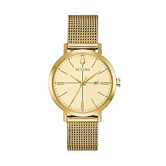 Bulova Women's Classic Aerojet Stainless Steel Mesh Watch - 97M115