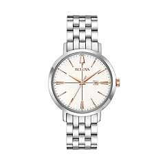 Bulova Women's Classic Aerojet Stainless Steel Watch - 98M130