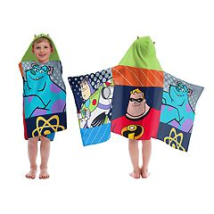 Disney / Pixar Buzz Lightyear, Mr. Incredible, Sully Hooded Towel