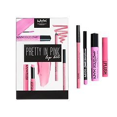 NYX Professional Makeup Pretty In Pink Lip Kit