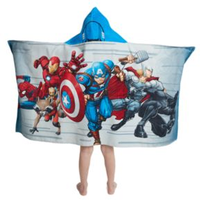 Marvel Team Up Hooded Towel