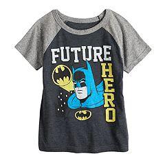 44e7639b Toddler Boy Jumping Beans® DC Comics Batman 'Future Hero' Raglan Graphic Tee