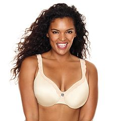 Just My Size Modern Curvy Light Foam Balconette Underwire Bra MJ1202