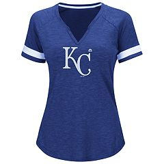 Plus Size Majestic Kansas City Royals Game Stopper Tee