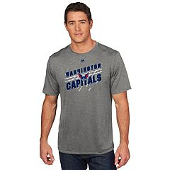 Men's Majestic Washington Capitals Drop Pass Tee