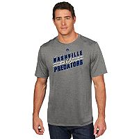 Men's Majestic Nashville Predators Drop Pass Tee