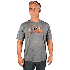 Men's Majestic Philadelphia Flyers Drop Pass Tee