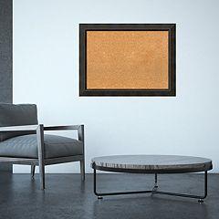 Amanti Art Large Bronze Framed Cork Board