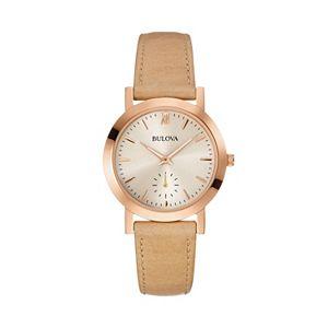 Bulova Women's Classic Leather Watch - 97L146