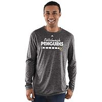 Men's Majestic Pittsburgh Penguins Crash Tee